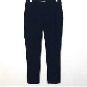 Loft navy blue modern skinny ankle pants